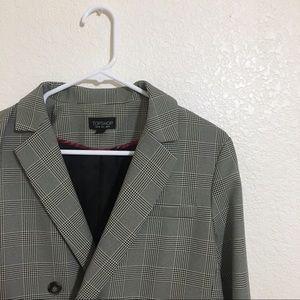 Topshop - Checked Blazer